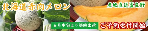 北海道赤肉メロン受付開始